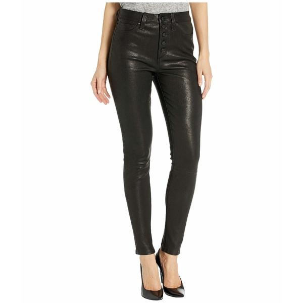 ジョーズジーンズ レディース カジュアルパンツ ボトムス The Charlie Ankle Leather in Black Black