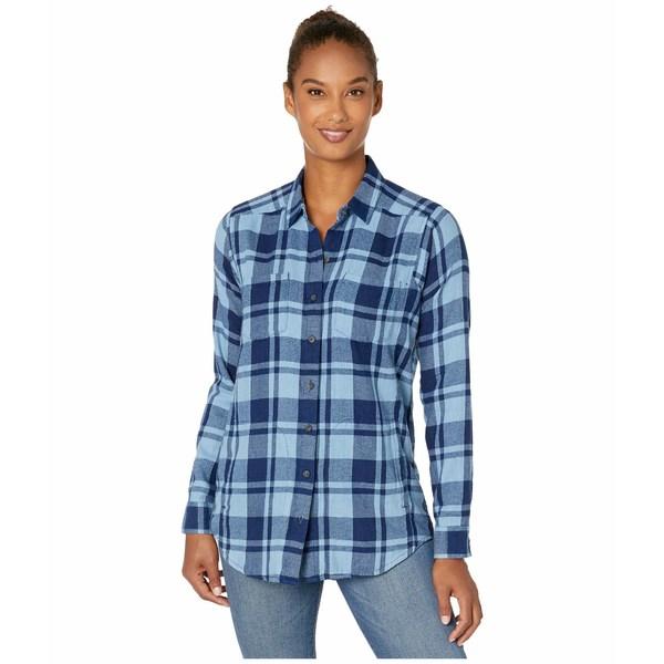 ドード アンドコー レディース シャツ トップス Cairn Long Sleeve Shirt Light Indigo