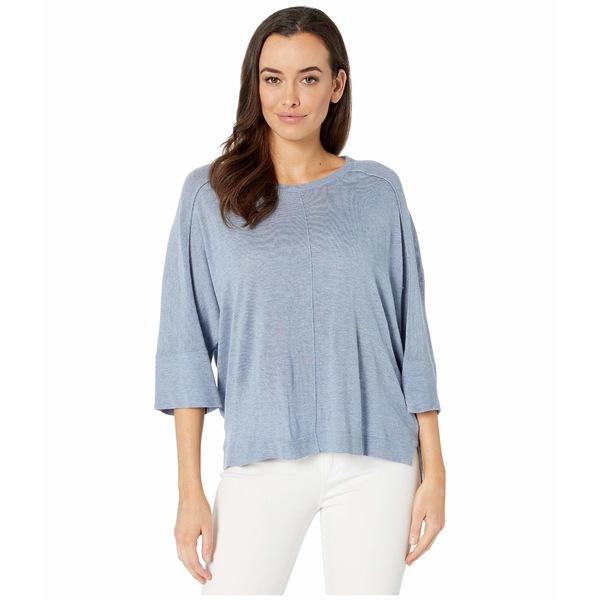 トリバル レディース ニット&セーター アウター Dolman 3/4 Sleeve Sweater Dust Blue