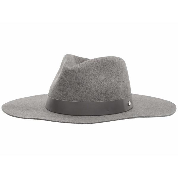 ラグアンドボーン レディース 帽子 アクセサリー Kacy Fedora Ice Grey