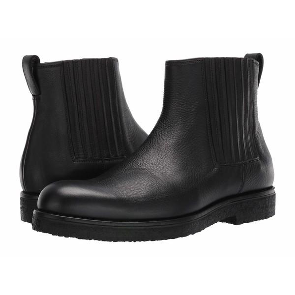 ヴィンス メンズ ブーツ&レインブーツ シューズ Carmine Black Yak Calf Leather