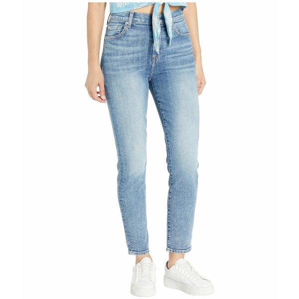7フォーオールマンカインド レディース デニムパンツ ボトムス High-Waist Slim Jeans in Nolita Blue Nolita Blue