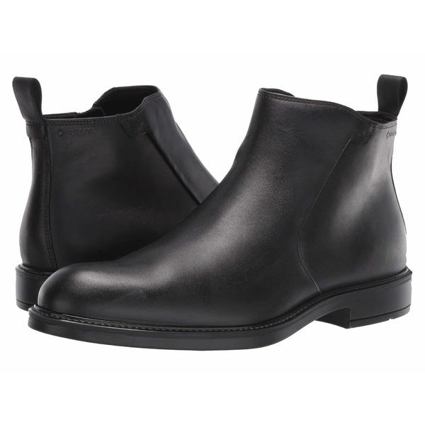 エコー メンズ ブーツ&レインブーツ シューズ Vitrus III GORE-TEX Zip Boot Black