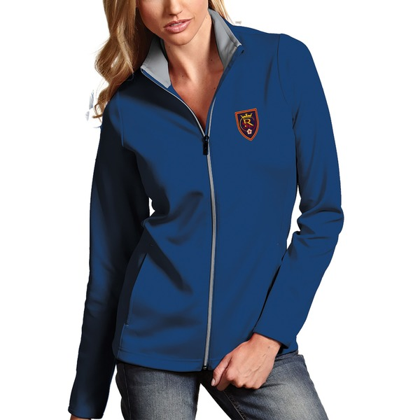 アンティグア レディース ジャケット&ブルゾン アウター Real Salt Lake Antigua Women's Leader Full Zip Jacket Royal