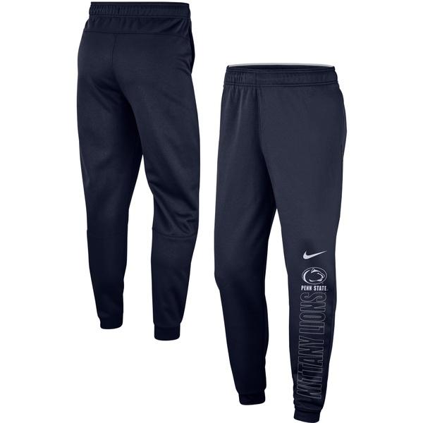 ナイキ メンズ カジュアルパンツ ボトムス Penn State Nittany Lions Nike Team Performance Pants Navy