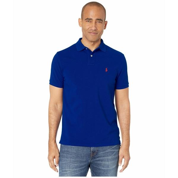 ラルフローレン メンズ シャツ トップス Custom Slim Fit Short Sleeve Pique Polo Fall Royal