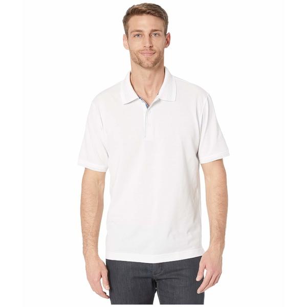 ロバートグラハム メンズ シャツ トップス Champion Polo White