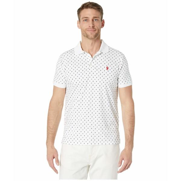 ラルフローレン メンズ シャツ トップス Custom Slim Fit Soft Touch Polo White Multi