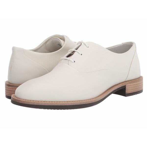 エコー レディース オックスフォード シューズ Sartorelle 25 Tailored Tie Shadow White