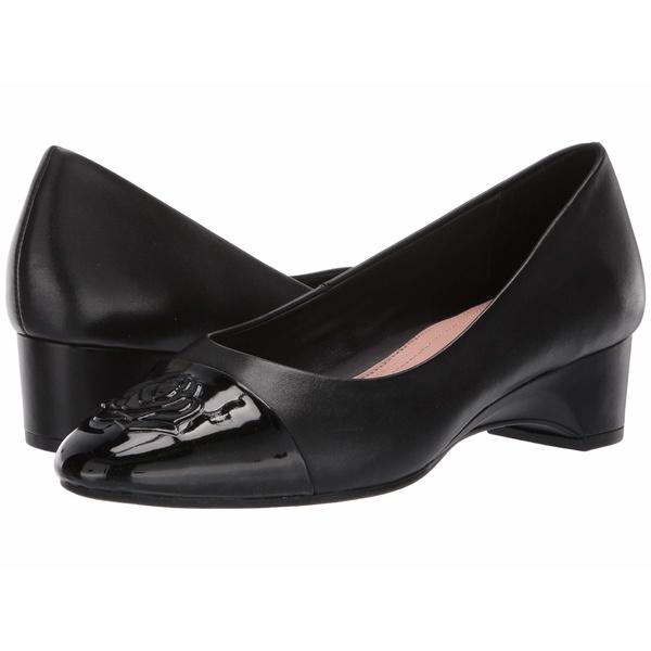 タリンローズ レディース ヒール シューズ Babe Black/Black Leather/Patent