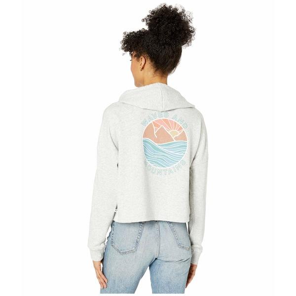 ロキシー レディース パーカー・スウェットシャツ アウター Neon Sunrise Pullover Sweatshirt Heritage Heather