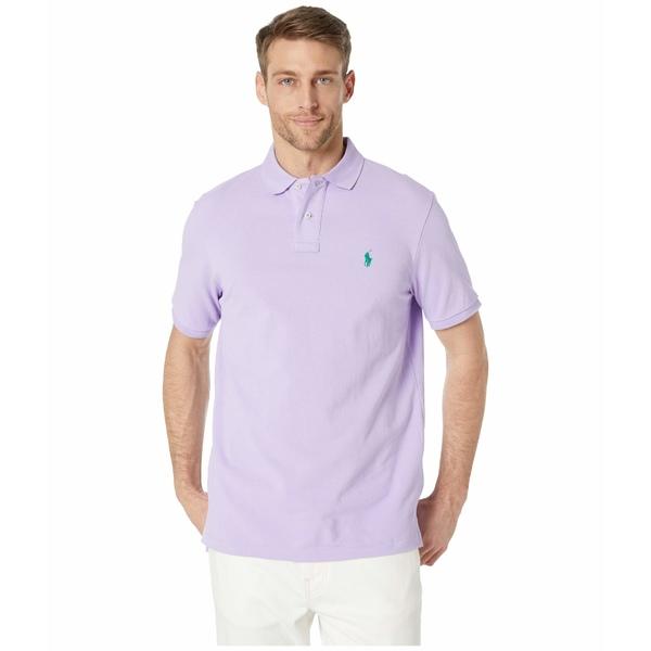 ラルフローレン メンズ シャツ トップス Classic Fit Mesh Polo Purple