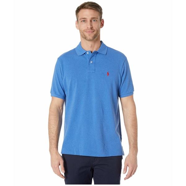 ラルフローレン メンズ シャツ トップス Classic Fit Mesh Polo Blue 2
