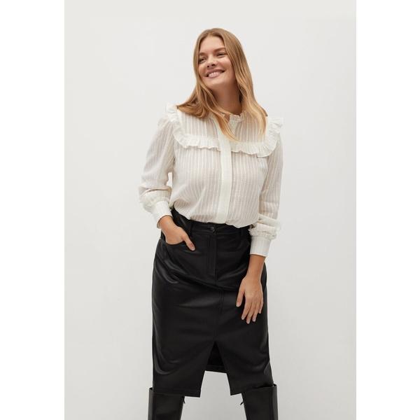 ビオレタ 日本メーカー新品 バイ オープニング 大放出セール マンゴ レディース ボトムス スカート black Leather 全商品無料サイズ交換 skirt ygbh0240 -