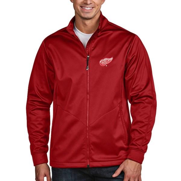 アンティグア メンズ ジャケット&ブルゾン アウター Detroit Red Wings Antigua Full Zip Golf Jacket Red