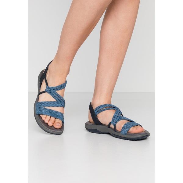 スケッチャーズ レディース シューズ サンダル navy 記念日 全商品無料サイズ交換 yhst00e0 - Walking REGGAE SLIM sandals 保証