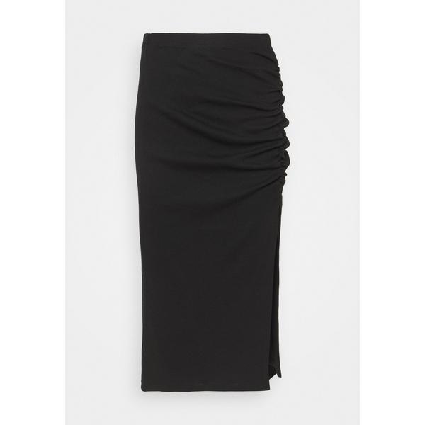 オンリー 新作製品、世界最高品質人気! 在庫一掃売り切りセール レディース ボトムス スカート black 全商品無料サイズ交換 ONLMAYA - ROUCHING skirt yhst00e2 Pencil SKIRT