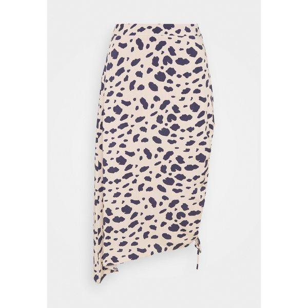 エヌ エー ケイ ご注文で当日配送 ディ レディース ボトムス スカート multi-coloured 全商品無料サイズ交換 安全 yiku0256 skirt HIGH SKIRT - MIDI DRAPED SLIT Pencil