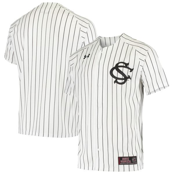 アンダーアーマー メンズ ユニフォーム トップス South Carolina Gamecocks Under Armour Performance Replica Baseball Jersey Garnet