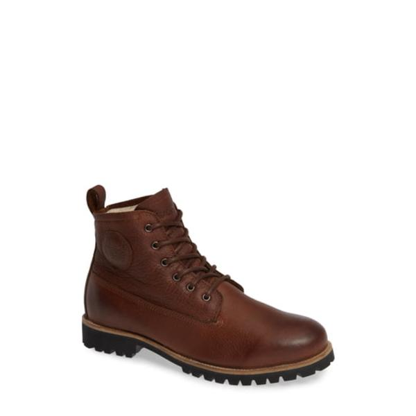 ブラックストーン メンズ ブーツ&レインブーツ シューズ OM60 Waterproof Genuine Shearling Boot Old Yellow