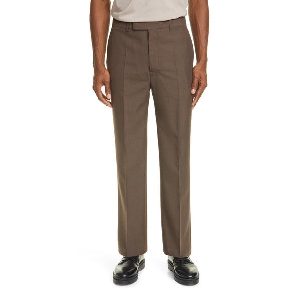 ルメール メンズ カジュアルパンツ ボトムス Dress Pants Grey Brown