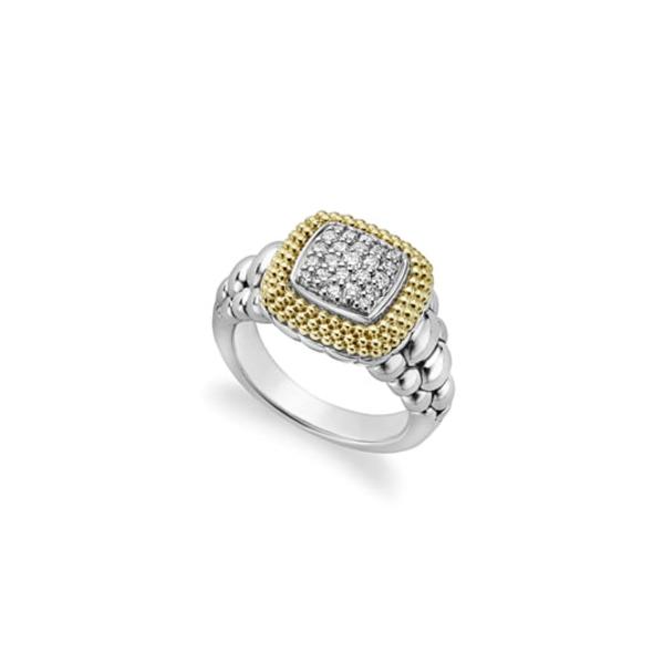 ラゴス レディース リング アクセサリー Diamond Lux Square Ring Diamond