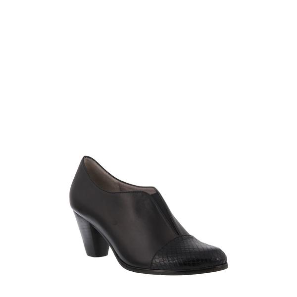 スプリングステップ レディース ブーツ&レインブーツ シューズ Carolyne Bootie Black Leather
