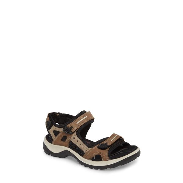 エコー レディース サンダル シューズ Yucatan Sandal Birch Leather