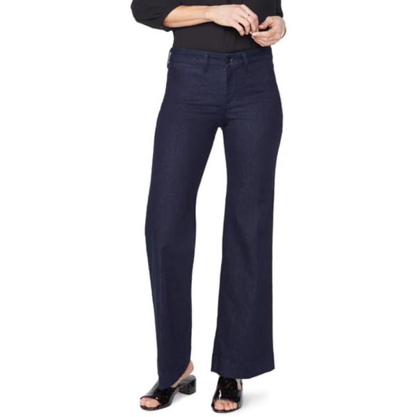 エヌワイディージェイ レディース デニムパンツ ボトムス Teresa Wide Leg Trouser Jeans Rinse