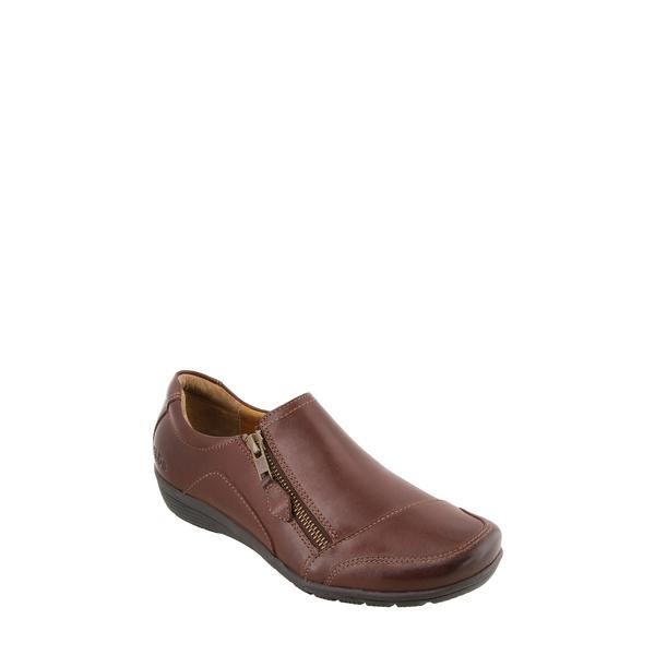 タウス レディース サンダル シューズ Character Flat Brunette Leather