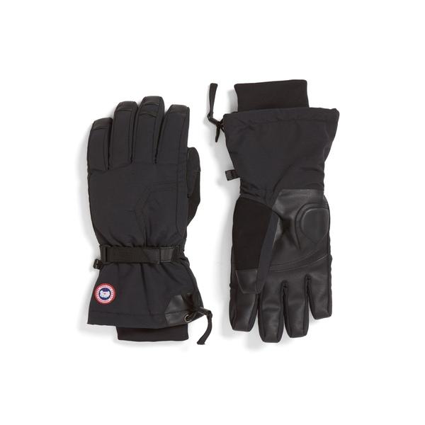 カナダグース メンズ 手袋 アクセサリー Arctic Down Gloves Black