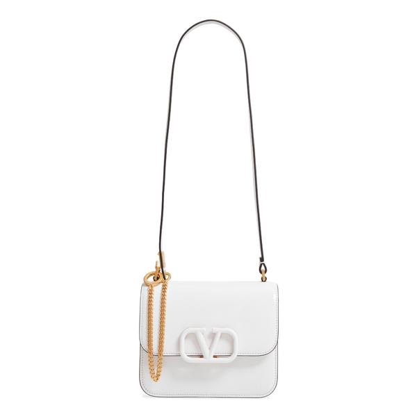 ヴァレンティノ ガラヴァーニ レディース ショルダーバッグ バッグ Small VSling Shoulder Bag Bianco Ottico