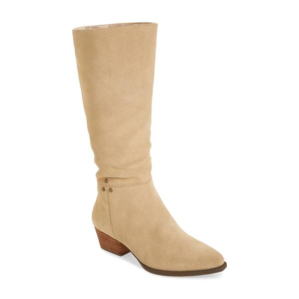 バンドオブジプシーズ レディース ブーツ&レインブーツ シューズ Larkspur Knee High Boot Natural Suede