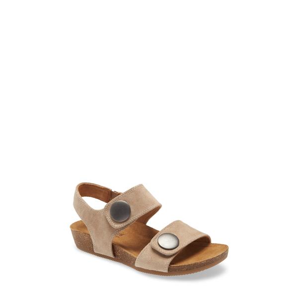 コンフォーティバ レディース サンダル シューズ Pamela III Sandal Light Grey Leather