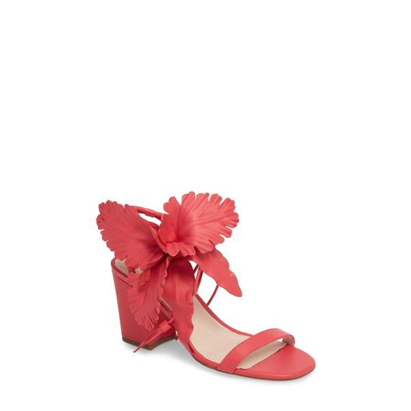 セセリアニューヨーク レディース サンダル シューズ Hibiscus Sandal Fuchsia Leather