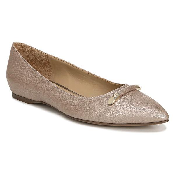 ナチュライザー レディース サンダル シューズ Naturalizer Sable Flat (Women) Soft Marble Leather