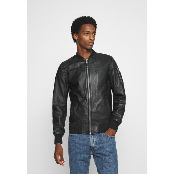 【2021 新作】 スコット メンズ ジャケット&ブルゾン ジャケット&ブルゾン アウター Leather Leather jacket jacket - black yljp0004, 揖斐川町:ac494bed --- rishitms.com