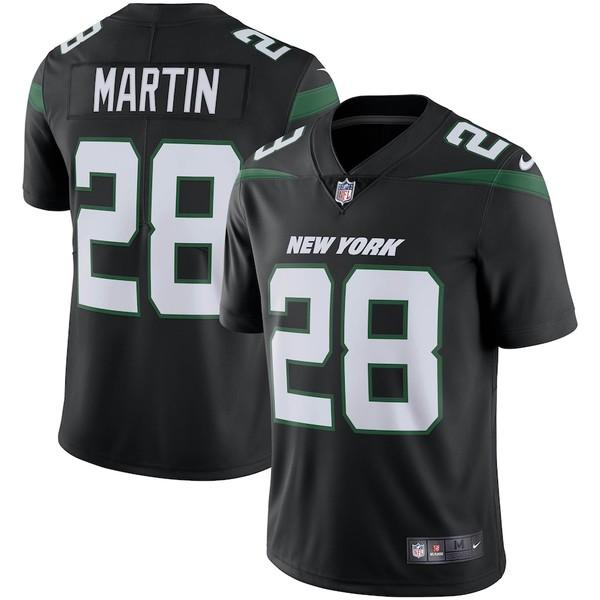ナイキ メンズ シャツ トップス Curtis Martin New York Jets Nike Retired Player Limited Team Jersey Stealth Black