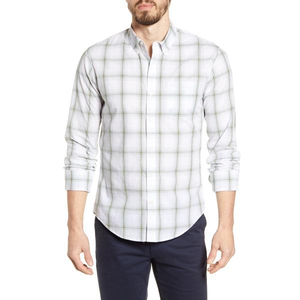 ボノボス メンズ シャツ トップス Summer Weight Slim Fit Plaid Button-Down Shirt Corvo Plaid Spirit Lamp