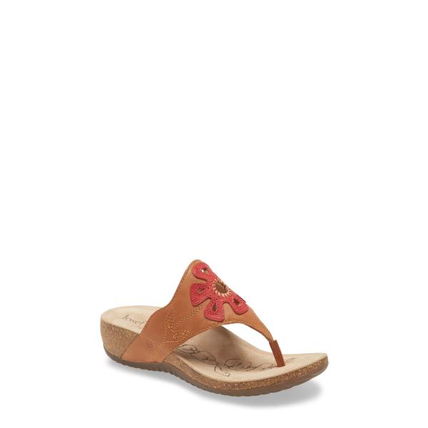 ジョセフセイベル レディース サンダル シューズ Natalya 09 Sandal Cognac Leather