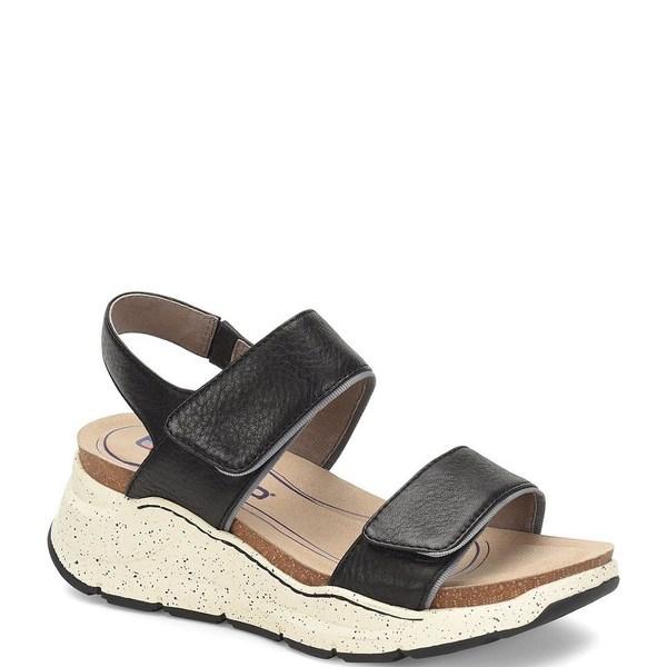 ビオニカ レディース サンダル シューズ Bionica Olivette Leather Sandals Black