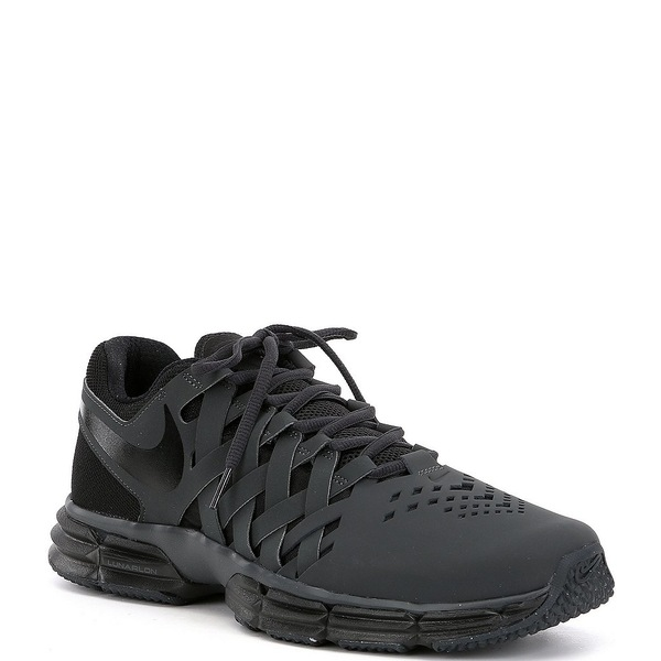 ナイキ メンズ スニーカー シューズ Men's Lunar Fingertrap Training Shoes Anthracite/Black