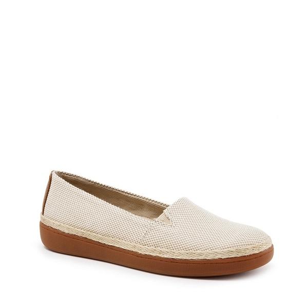 トロッターズ レディース スニーカー シューズ Accent Linen Slip-On Sneakers Natural/Rust