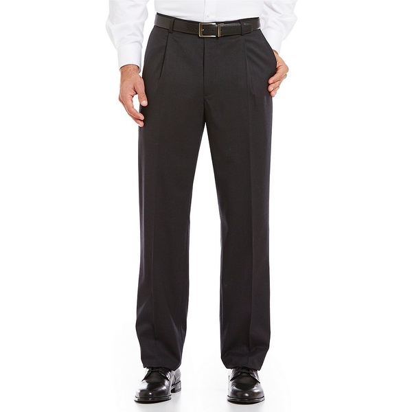 <title>ハートシャファネールマークス メンズ ボトムス カジュアルパンツ Charcoal 全商品無料サイズ交換 Tailored Single-Pleat 誕生日/お祝い Regular Chicago Fit Dress Pants</title>