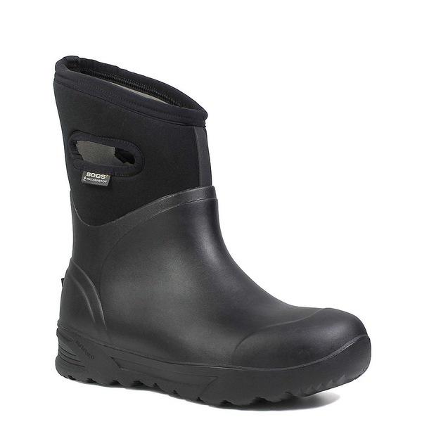 ボグス メンズ ブーツ&レインブーツ シューズ Men's Bozeman Mid Waterproof Winter Work Boot Black