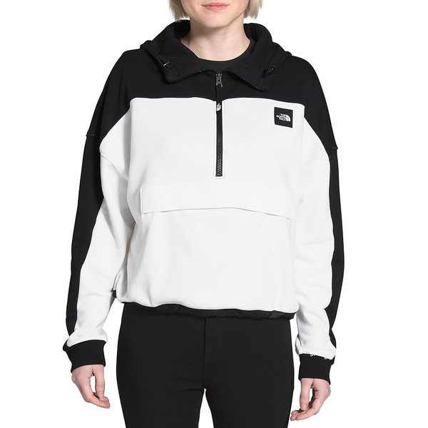 ノースフェイス レディース ジャケット&ブルゾン アウター Geary French Terry Colorblock Pullover Hoodie The North Face Black/The North Face White