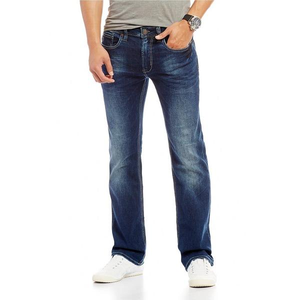 バッファロー・デイビッド・ビトン メンズ デニムパンツ ボトムス King-X Slim Bootcut Jeans Indigo