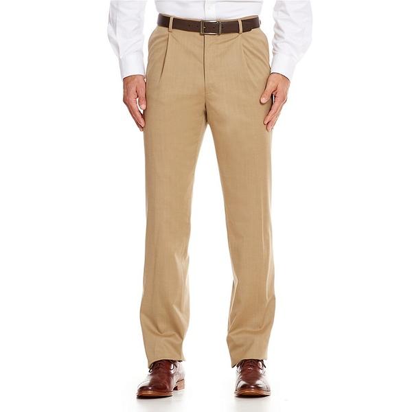 <title>ハートシャファネールマークス メンズ ボトムス カジュアルパンツ Tan 全商品無料サイズ交換 Tailored 25%OFF Single-Pleat Regular Chicago Fit Dress Pants</title>