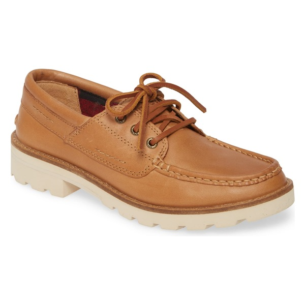 スペリー レディース サンダル シューズ Sperry Authentic Original Boat Shoe (Women) Brown Leather