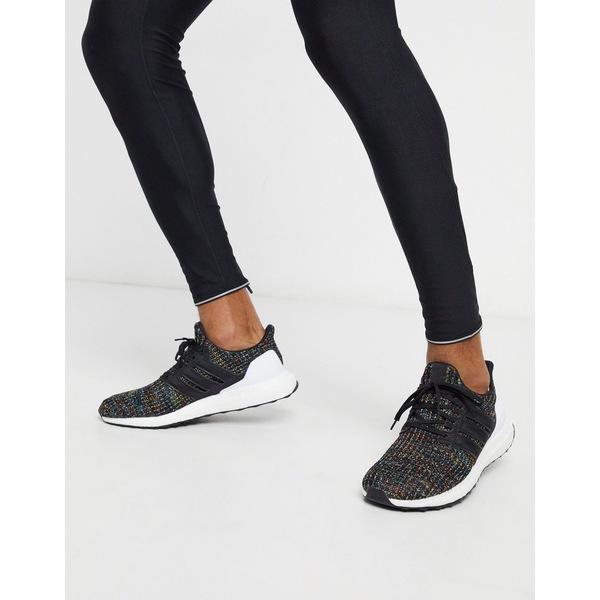 アディダス メンズ スニーカー シューズ adidas Ultra Boost sneakers in black Core black / active
